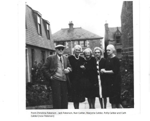 Calder sisters and Jack Paterson